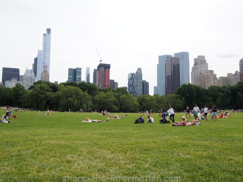 セントラルパーク ニューヨーク 観光 シープメドウ