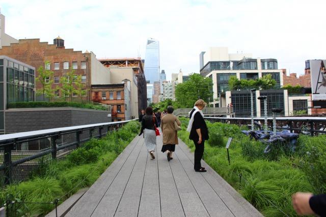 ニューヨークの定番観光スポット ハイライン