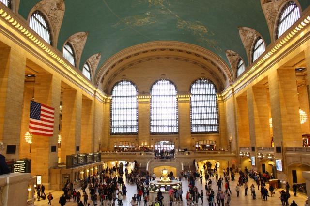 ニューヨークの定番観光スポットグランドセントラル駅