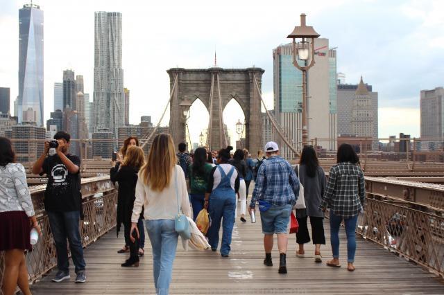 ニューヨークの定番観光名所スポット ブルックリンブリッジ