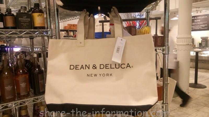 ニューヨークdean & deluca NY限定お土産 トートバッグ
