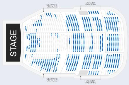 ブロードウェイミュージカルフローズンの座席