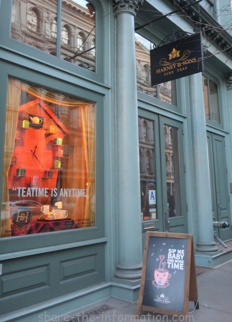 知らなきゃ損!ニューヨーク発紅茶ブランドハーニー&サンズのカフェと店舗情報をリサーチ!