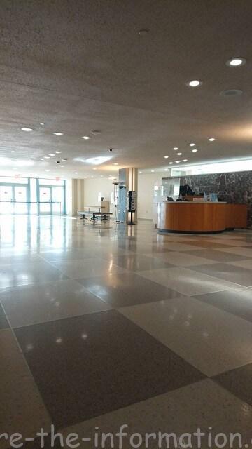 ニューヨーク国連本部の館内紹介 集合場所