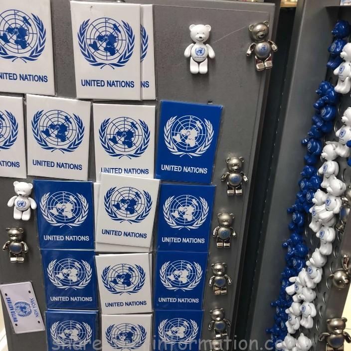 ニューヨーク国連本部のお土産マグネット