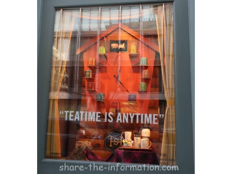 【ニューヨーク】ハーニー&サンズの試飲ができて茶葉も買えるカフェ!