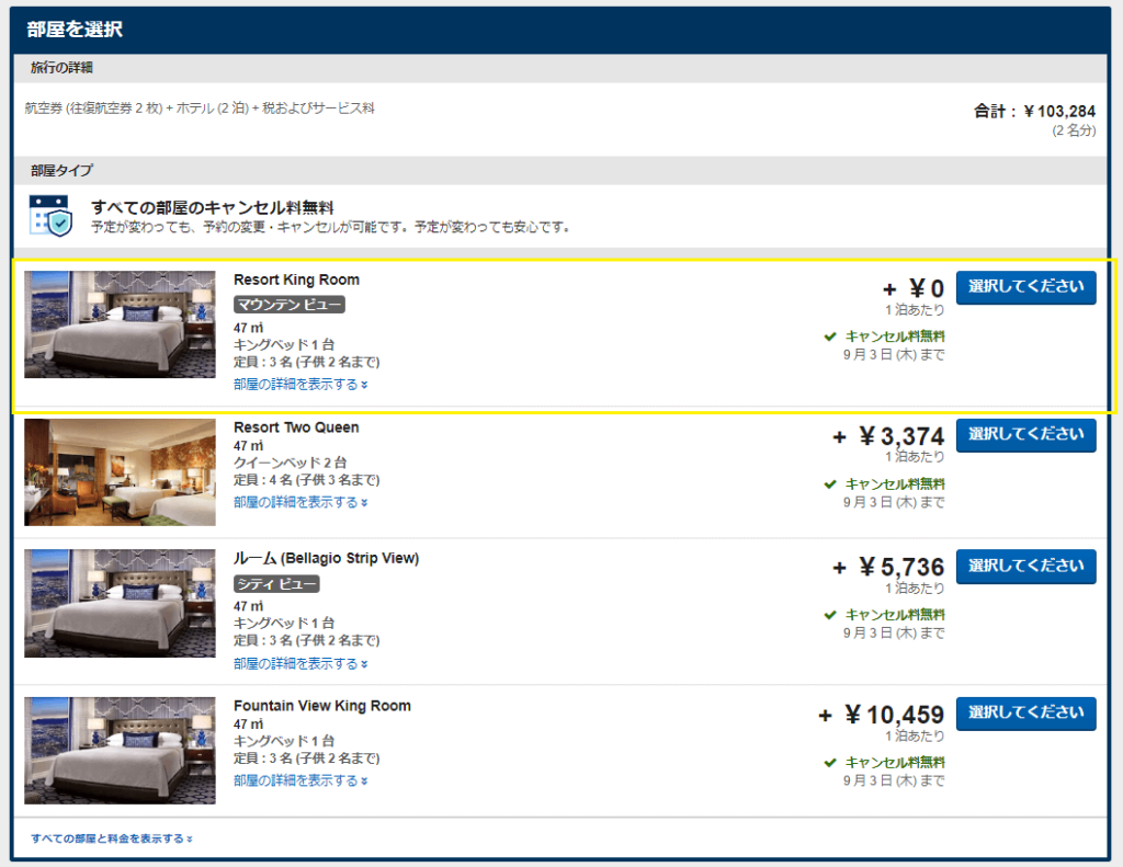 【安い】ニューヨークからラスベガスまで飛行機・ホテル・レンタカー代込み5万円で行けた方法